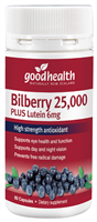 Bilberry 25,000mg Plus Lutein 6mg