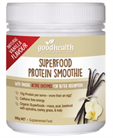 Superfood Protein Smoothie with Natural Vanilla Flavour