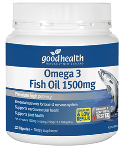 Omega 3 Fish Oil 1500mg