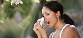 Naturally relieve the impact of allergies