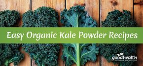 Quick & Easy Organic Kale Powder Recipes