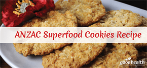 ANZAC Superfood Cookies Recipe