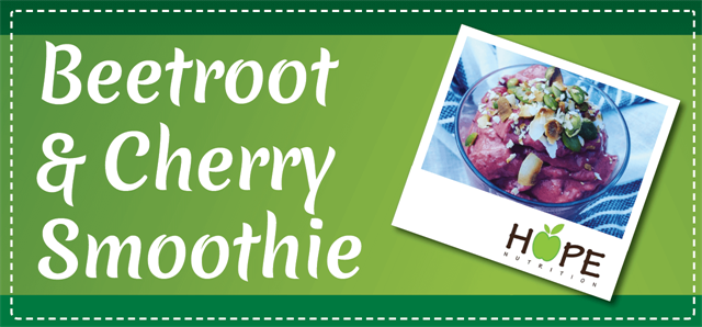 Beetroot & Cherry Smoothie